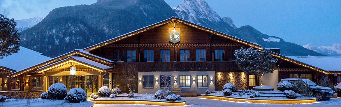 HUUS Hotel Gstaad Switzerland